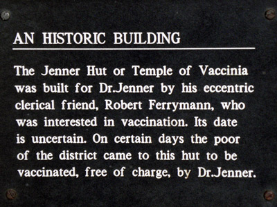 Plaque on Jenner