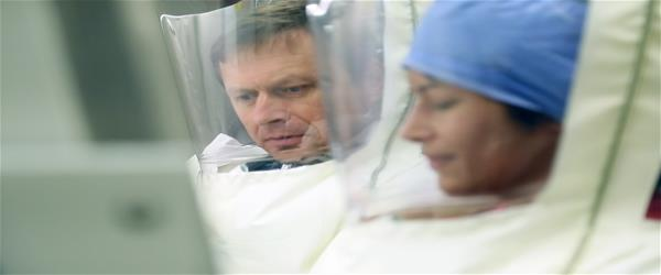 Dr. Bukreyev and Dr. Meyers Ebola Aerosol Vaccine.Still043