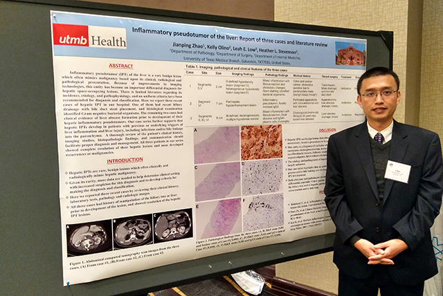 adj_Dr. Jianping Zhao at the 2018 TSP annual meeting