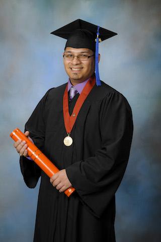 SHP Respiratory Care graduate Robert Guedea