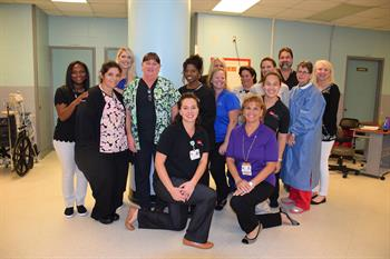 EAC members with CMC Dialysis employees at the Estelle Unit.