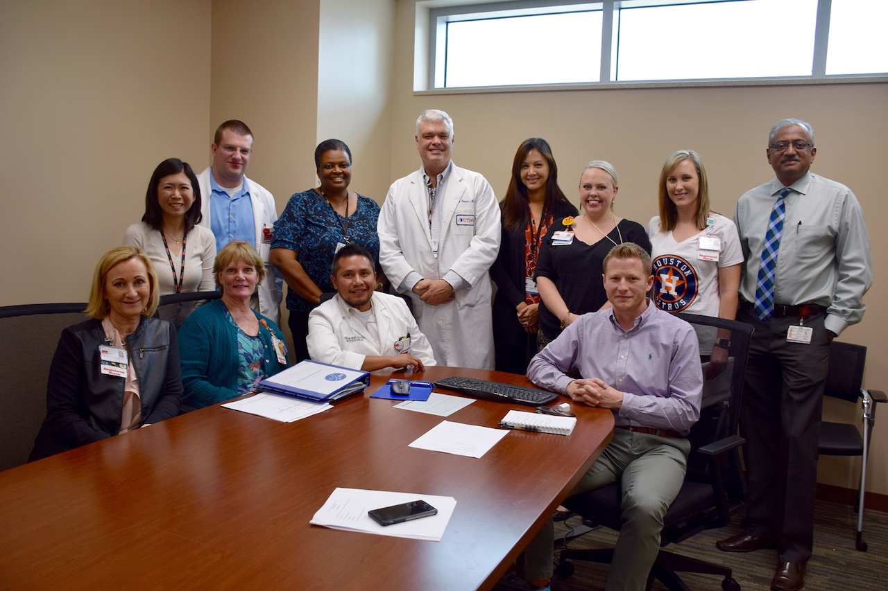 UTMB's Antimicrobial Stewardship Program includes an interprofessional committee that meets weekly to discuss targeted work across the institution.