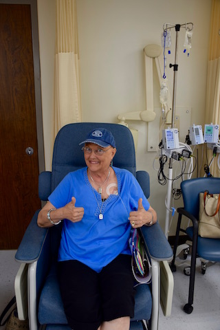 Jody Domingue receives cancer care treatment at UTMB
