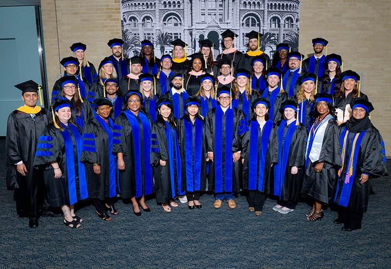 The Graduate School of Biomedical Sciences awarded 39 degrees on May 18.