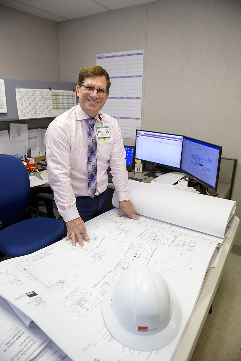 Image of Leonard Lacomb UTMB Principal Facilities Project Manager for League City