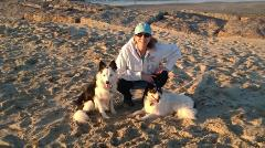 cunningham-with-her-two-border-collie-rescues-kimba-and-k-d