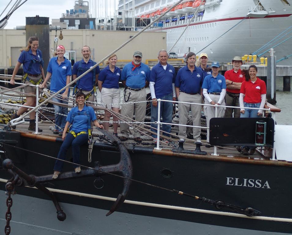 UTMB 2016 Elissa Volunteer crew