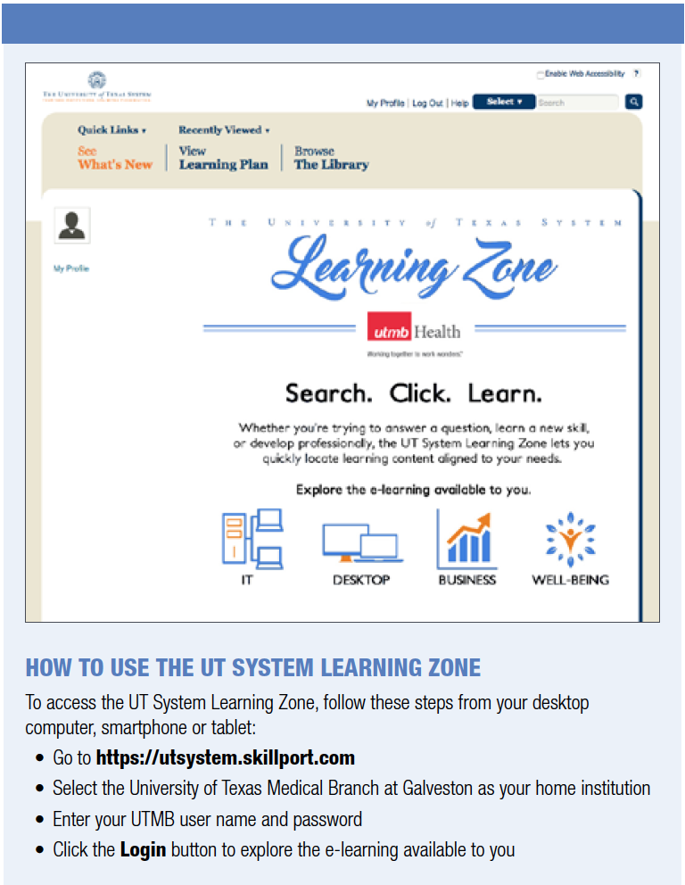 UT Learning Zone