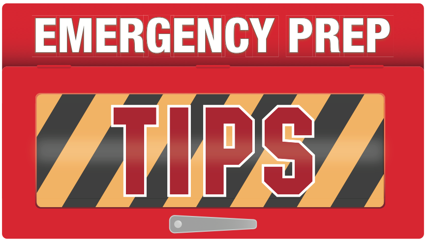 Emergency Prep Tips