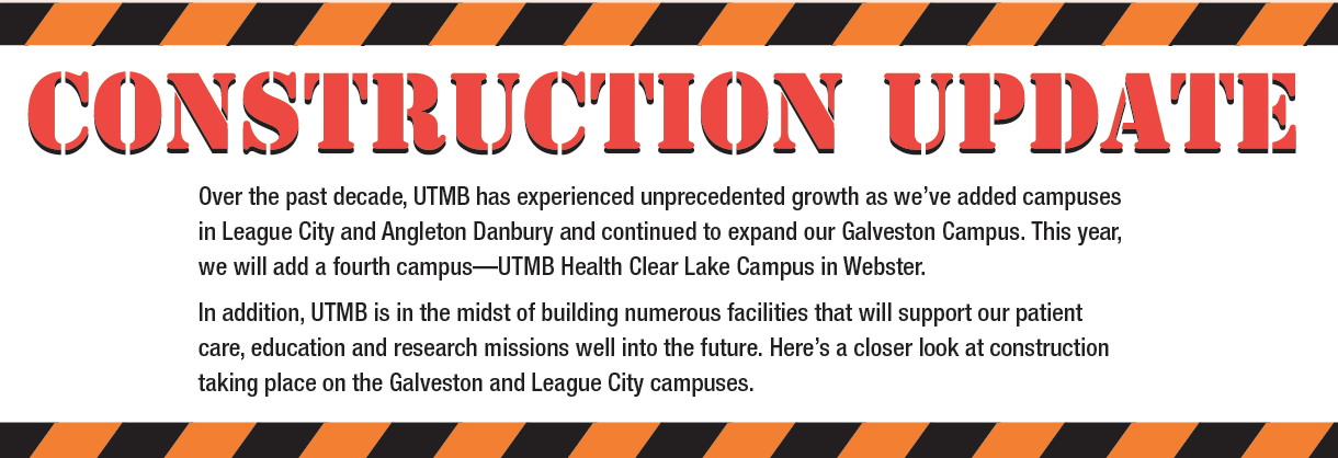 Construction update graphic image