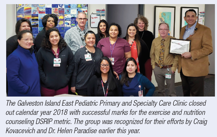 Pediatric clinic makes big strides in DSRIP initiatives