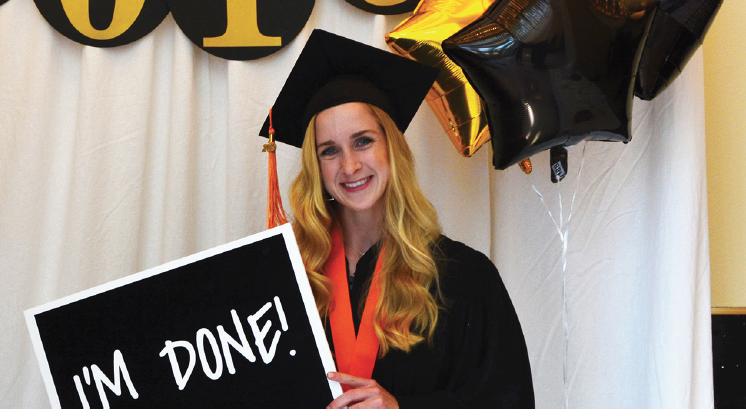 SON graduate Katie Hansen