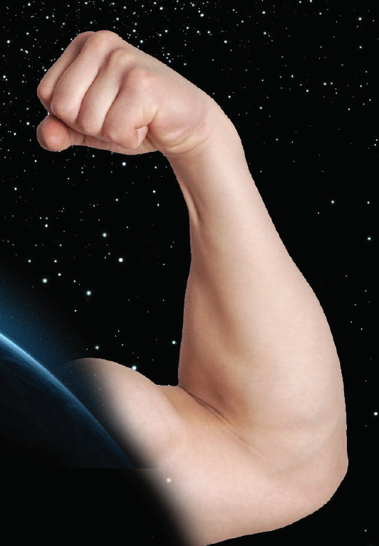 image linking to muscle loss in space story