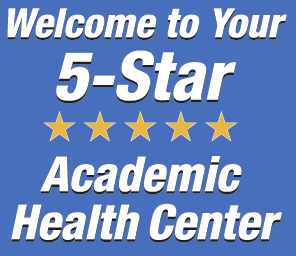graphic of 5-star academic health center