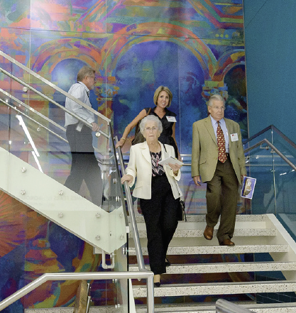 image from HEC dedication tour