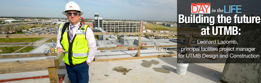 Image of Leonard Lacomb principal facilities project manager