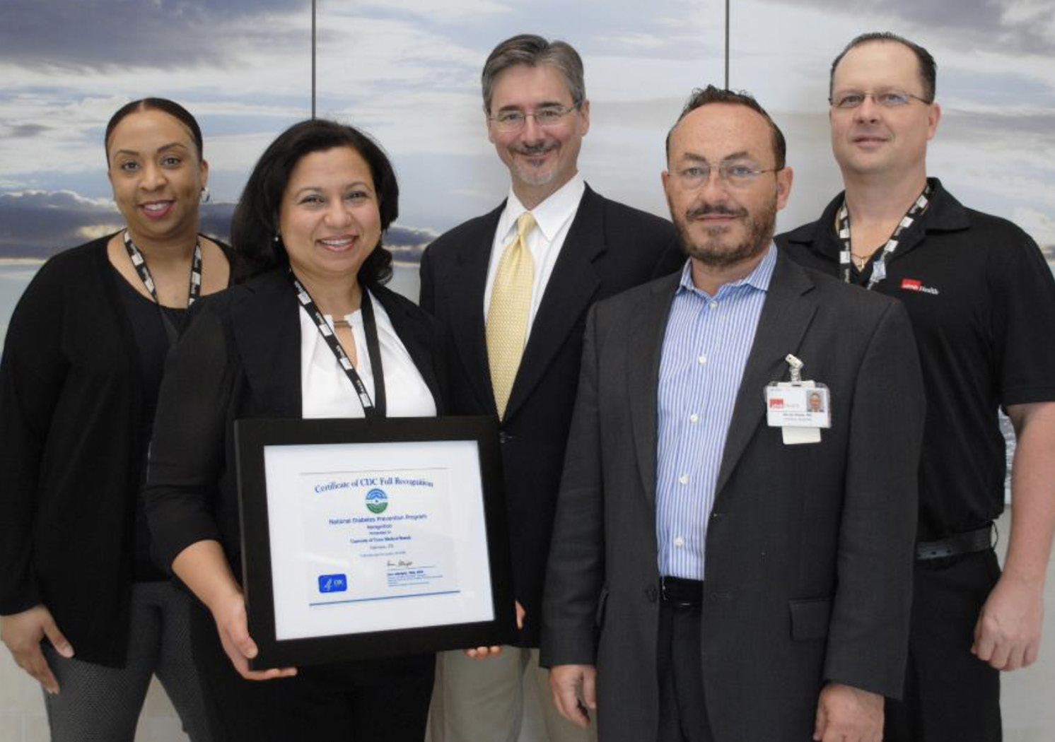 UTMB Employees with UTMB's nationally recognized Diabetes Prevention Program
