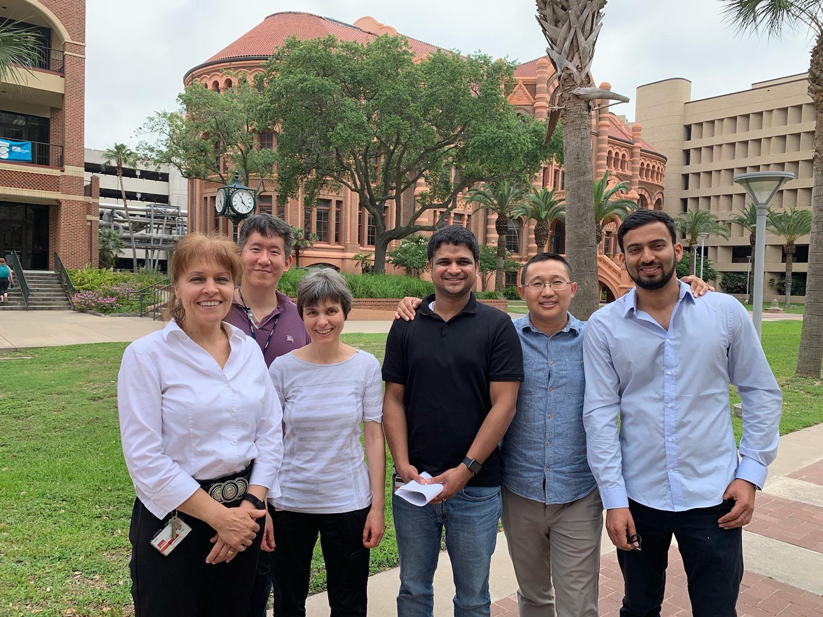 Lab members, UTMB, May 2019
