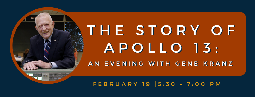 The Story of Apollo 13: An Evening with Gene Kranz