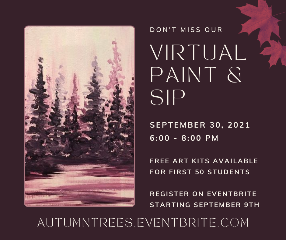 Paint and Sip: Autumn Trees