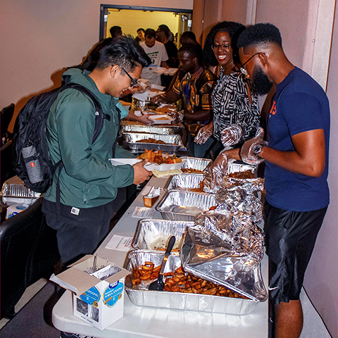 Pan-African Medical Association serves student at their Afrofest event