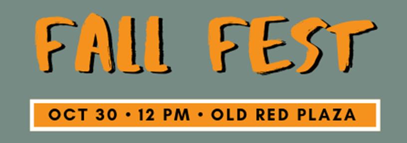 Fall Fest - October 30