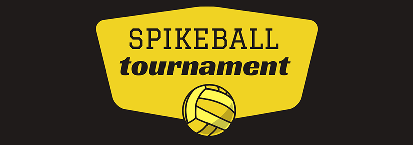 spikeball tournament with ball