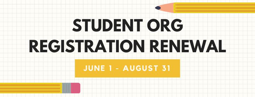 Student Org Registration Renewal