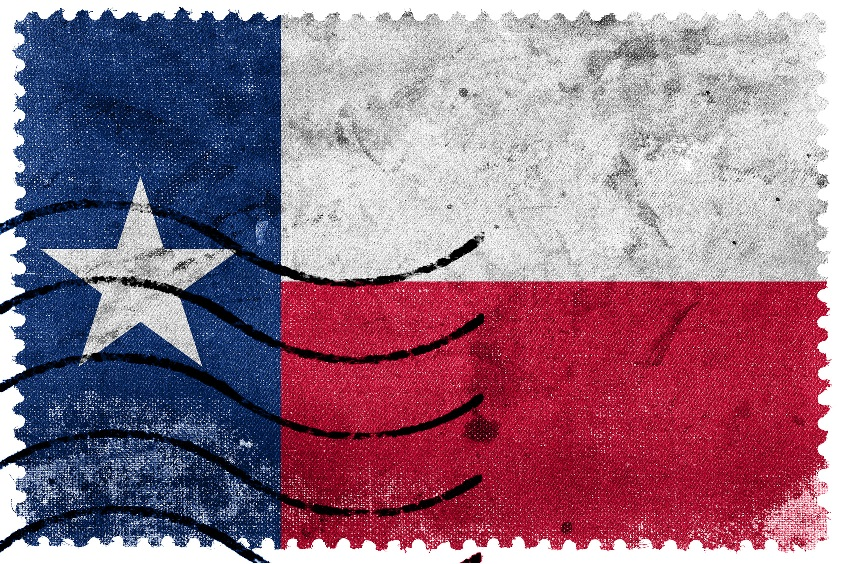 Texas Flag Contact Us