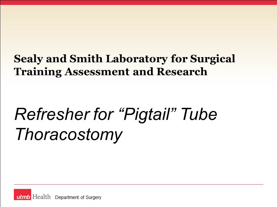 LSTAR Pigtail Refresher