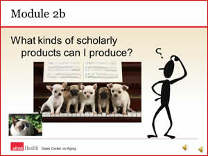 Module 2b - more types of scholarly products