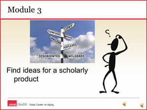 Module 3a - find ideas