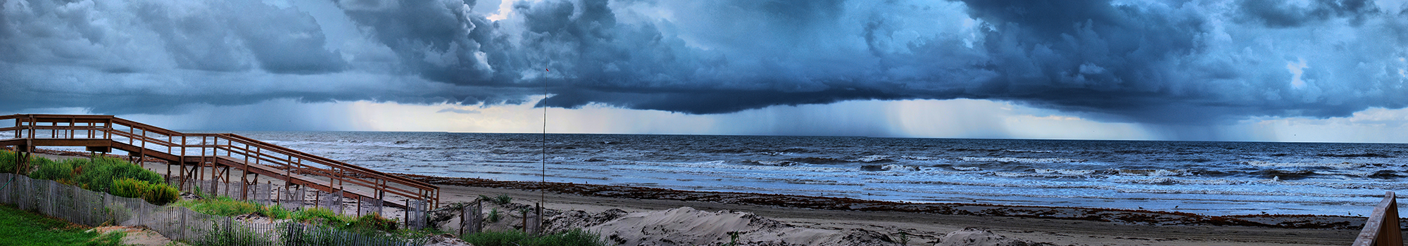 Storm over Gulf