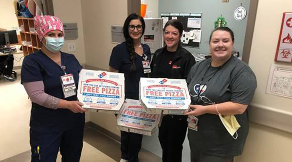 Bracco Diagnostics donates lunch