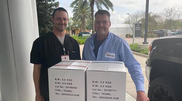 RDA ProMart donates gloves