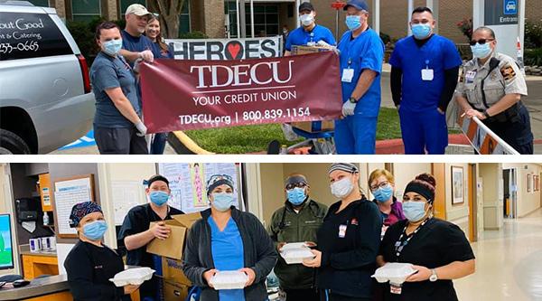 TDECU donates meals