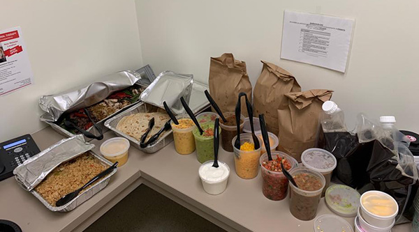 TG Energy Industrial Services donates lunch