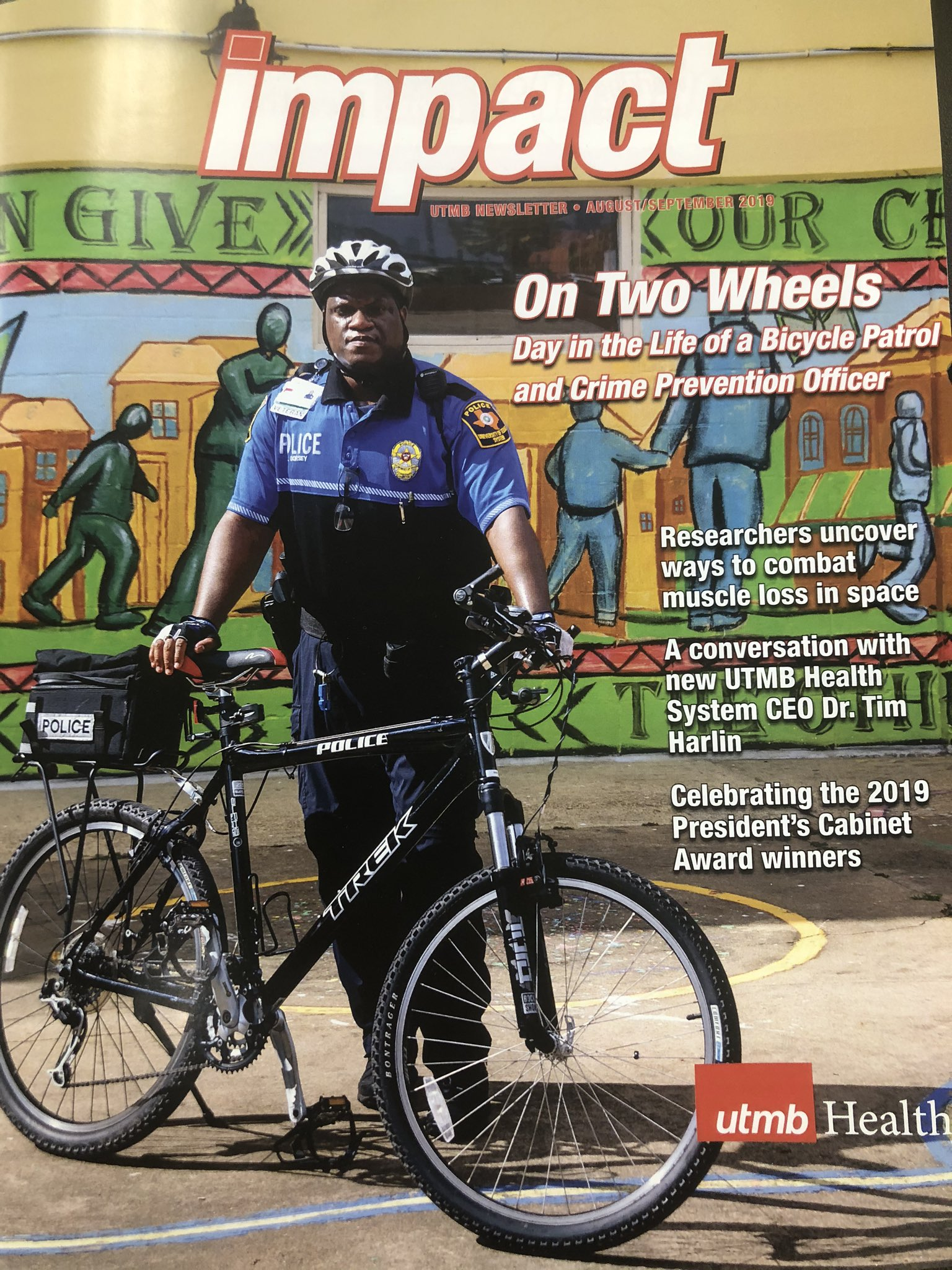 Bicycle Patrol and Crime Prevention Officer