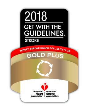 Stroke Gold Plus Badge