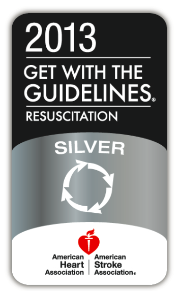 Get With The Guidelines — Resuscitation Silver Quality Achievement Award from the American Heart Association