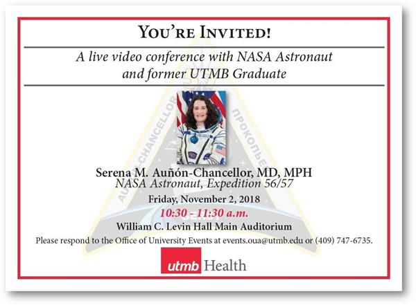 Astronaut Serena Auñón-Chancellor