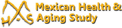 Logo graphic for Mexican Health and Aging Study
