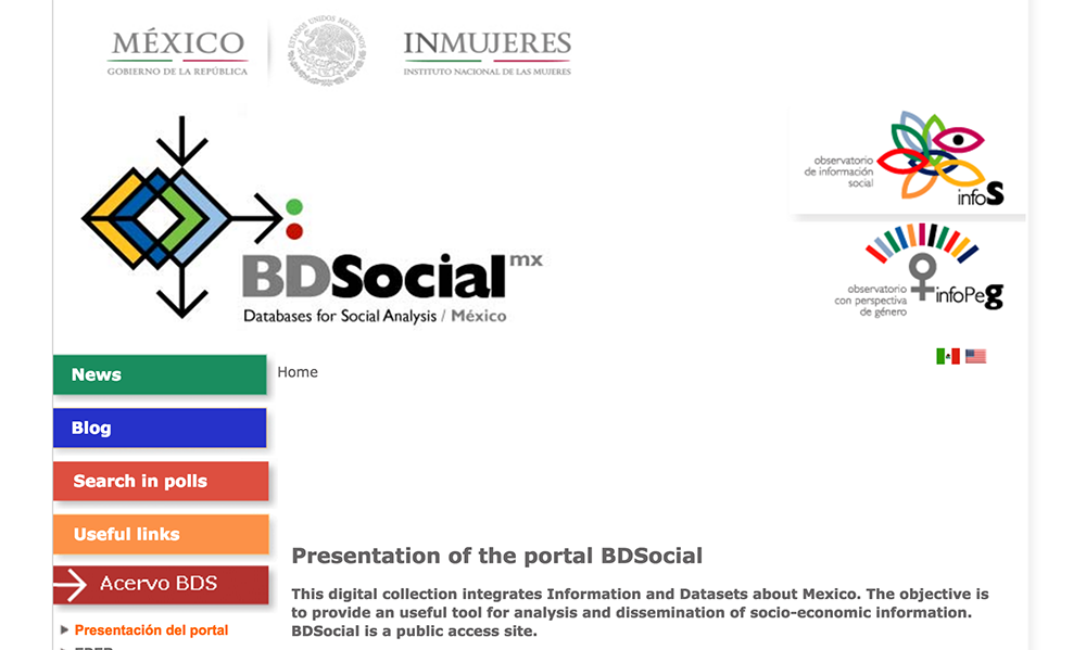 BD Social website