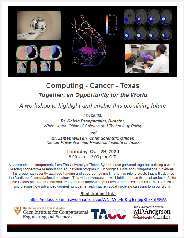 CPRIT Data Science Virtual Symposium