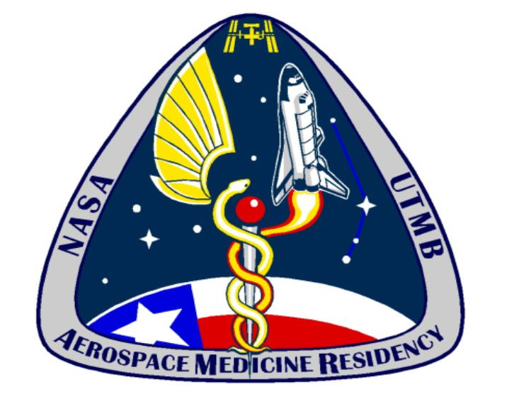 NASA UTMB Aerospace Medicine Residency patch
