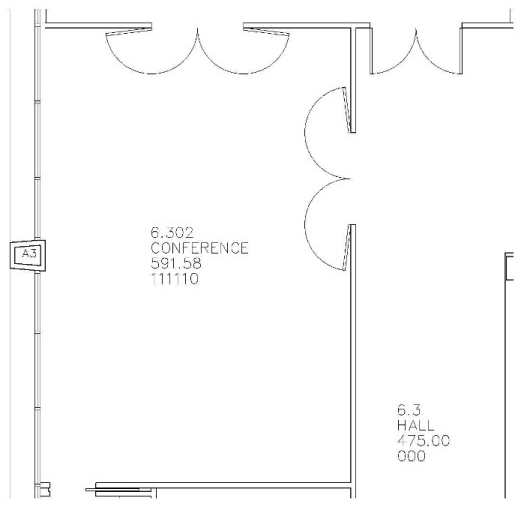 Ballinger Mills Room Floor Plan