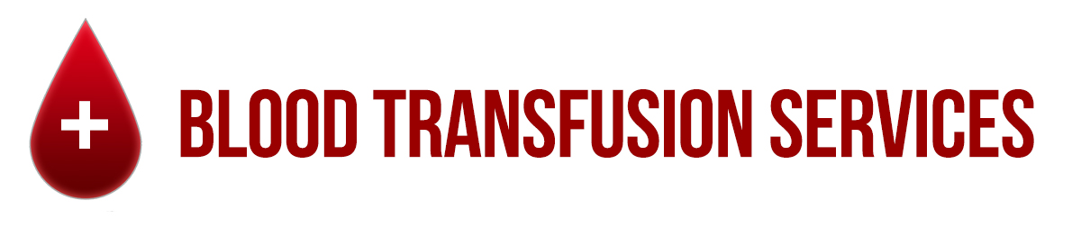 Blood Transfusion Services banner